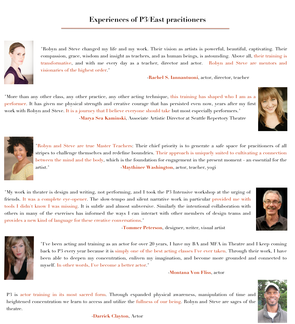 Testimonials Training Page